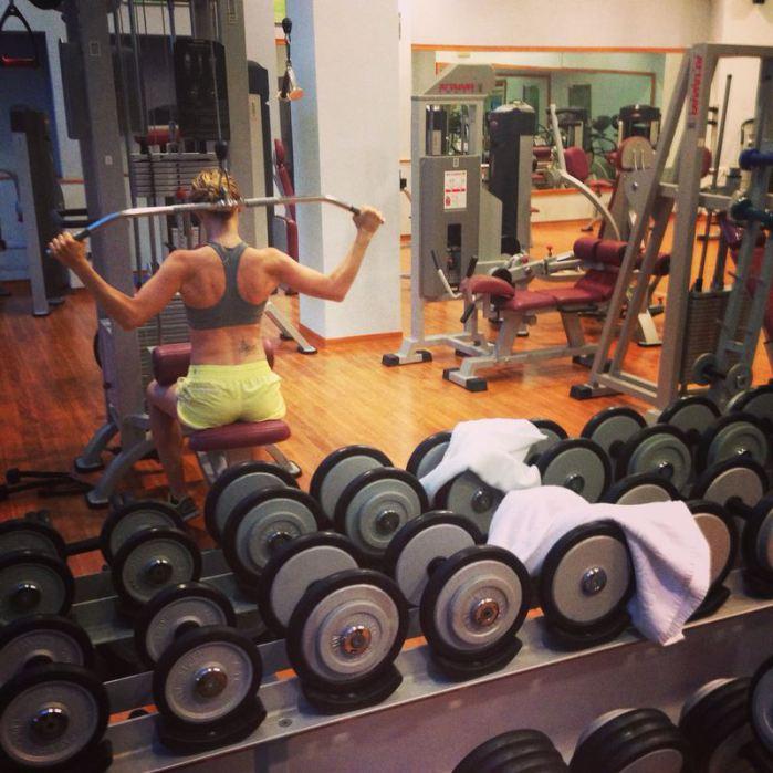 Planning de entreno para chicas (vegan fitness)